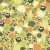 seamless pattern with owls and floral elements stock photo © ekapanova