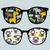 シマウマ · 漫画 · フレーム · 食品 · 赤ちゃん · 笑顔 - ストックフォト © ekapanova