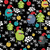 cute monsters and christmas seamless pattern stock photo © ekapanova