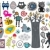 mix of different vector images and icons vol12 stock photo © ekapanova
