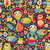 cute monsters seamless pattern stock photo © ekapanova