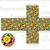 Papier · Würfel · Kinder · Spiele · Dekoration · Textur - stock foto © ekapanova