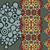 naadloos · psychedelic · ornamenten · negen · verschillend · patronen - stockfoto © ekapanova
