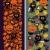 végtelen · minta · narancs · tökök · fekete · absztrakt · művészet - stock fotó © ekapanova