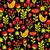 sem · costura · textura · flores · aves · floral - foto stock © ekapanova