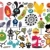 Mix of different vector images and icons. vol.21 stock photo © ekapanova