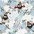 winter seamless pattern with owl and snow stock photo © ekapanova