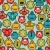 robot and monsters cute faces seamless pattern stock photo © ekapanova