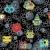 бесшовный · круга · шаблон · звездой · пространстве · текстуры - Сток-фото © ekapanova