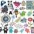 nyúl · kifejezések · szett · gyűjtemény · különböző · arc - stock fotó © ekapanova