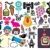 Mix of different vector images and icons. vol.20 stock photo © ekapanova