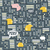 night city and money seamless pattern stock photo © ekapanova