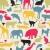 animals silhouette seamless pattern stock photo © ekapanova