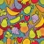 seamless pattern with fruits and vegetables and hearts stock photo © ekapanova