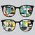 silhouet · persoon · bril · vector · man · bril - stockfoto © ekapanova