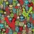 pattern with cute birds and pretty flowers stock photo © ekapanova