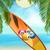 praia · branco · bola · natação · jogo - foto stock © elaine