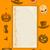 halloween · grunge · papieru · arkusza · cień · krwi - zdjęcia stock © elaine