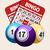 bingó · golyók · szett · fehér · sport · piros - stock fotó © elaine