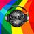 niebieski · strony · disco · ball · świetle · projektu · sztuki - zdjęcia stock © elaine
