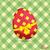 Пасху · соты · яйцо · красный · пасхальное · яйцо · лента - Сток-фото © elaine
