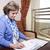 senior · zakenvrouw · venster · business · vrouw · kantoor - stockfoto © eldadcarin