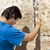 Placing a Note in the Wailing Wall stock photo © eldadcarin