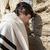 Jewish Man Praying at the Western Wall stock photo © eldadcarin
