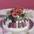 tavola · torta · marzapane · fiori - foto d'archivio © Elegies