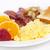 sağlıklı · kahvaltı · plaka · üst · görmek · malzemeler - stok fotoğraf © elenaphoto