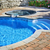 Swimming pool with hot tub stock photo © elenaphoto
