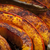 roasted pumpkin closeup stock photo © elenaphoto