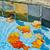 fallen · Blätter · schwimmend · Pool · Schwimmbad · Wasser - stock foto © elenaphoto