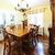 Esszimmer · Möbel · Innenraum · Holztisch · Stühle · Haus - stock foto © elenaphoto