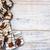 csokoládé · ugatás · fa · karamell · darabok · fából · készült - stock fotó © elenaphoto