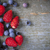 wild berries on wood background stock photo © elenaphoto