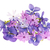 flor · de · primavera · ramo · superior · vista · blanco · jardinería - foto stock © elenaphoto