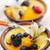 sobremesas · branco · comida · morango · fresco · doce - foto stock © elenaphoto