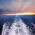 太陽光線 · 雲 · 海 · 美しい · 海景 - ストックフォト © elenaphoto