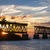 Florida · sleutels · oude · brug · zonsondergang · park - stockfoto © elenaphoto