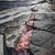 kő · egyenetlen · tó · part · hang · Ontario - stock fotó © elenaphoto