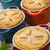 caseiro · quatro · carne · tortas - foto stock © elenaphoto