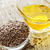 marrom · semente · Óleo · tigela · saúde · líquido - foto stock © elenaphoto