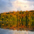 fall forest and lake stock photo © elenaphoto