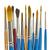 paintbrushes on white stock photo © elenaphoto