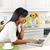 женщину · кухне · улыбаясь · черную · женщину · современных - Сток-фото © elenaphoto
