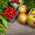 fresh market fruits and vegetables stock photo © elenaphoto