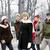 grupy · znajomych · na · zewnątrz · zimą · różnorodny · młodych - zdjęcia stock © elenaphoto