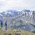 wandelaars · bergen · genieten · schilderachtig · natuur - stockfoto © elenaphoto
