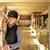 女性 · ジョッキー · ライディング · 馬 · 納屋 · 女性 - ストックフォト © elenaphoto